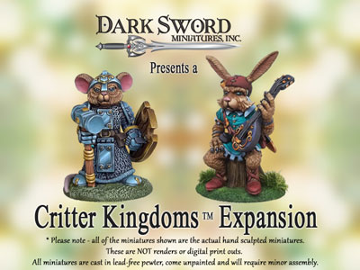 Click the image to check out the new Kickstarter Project from Dark Sword!